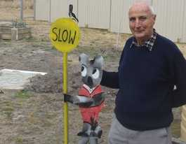 Funky roadside art to draw in tourists to Stanthorpe