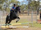 Former world champ holds jumping clinic