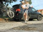 Cars damaged as Byron Bay's potholes reach new depths