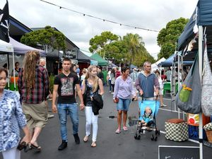 'Nights on Ocean' markets in Maroochydore. Photo: Warren Lynam / Sunshine Coast Daily