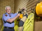 ONE of Ipswich's most experienced firefighters has hung up the helmet for the last time, but not before passing on some wisdom.