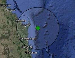 UPDATE: 5.3 magnitude quake 80km east of Fraser Island