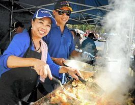 Dish of fish means delish: nets down for Seafood Festival