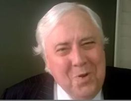 VIDEO: Clive Palmer's bizarre 'farewell' to Bronwyn Bishop