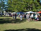 A monthly market offering Local crafts, Home cooking,  Fresh produce, Plants, Trash & Treasure