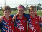 Trio do Warwick proud at football carnival