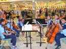 State school students from across the Rose City showcased their musical talents for shoppers in the Rose City Shoppingworld this week.