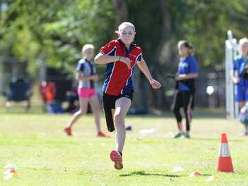 Students from across Rocky and the Capricorn Coast took to the field at Emmaus College to compete in the Inter-school Athletics Carnival.