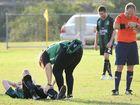 Serious knee injury leaves fine sporting career in jeopardy
