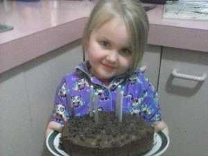 Pancake and berries and chocolate cake