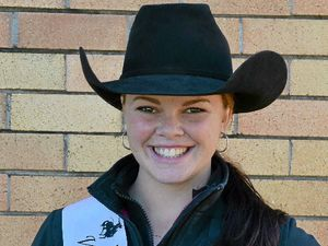 Rodeo Queen entrant Tori set to greet judges with a smile
