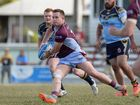 Action from the Capras v Norths QRL game at Browne Park on Sunday.   Photos CHRIS ISON