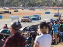 IPSWICH fans packed the Queensland Raceway track shoulder to shoulder on the final day of the Coates Hire Ipswich SuperSprint.