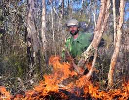 Safety first rules our rangers' burn plans