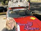 BEHIND the wheel of her 1979 Holden sedan Dancing Queens, Auriel Robinson is about to embark on her seventh year in the Variety Bash.