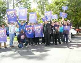 TAFE funding protests begin in Grafton at both campuses