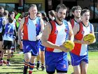 IN THE colours of the old Kingaroy Bulldogs, the South Burnett Saints stirred the memories of past glories for Heath Kassulke.
