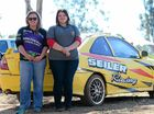 RALLY driving has become a family passion for Wondai sisters-in-law Amanda and Caitlyn Seiler, who tore around the dusty track at the Proston rally.