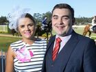 MORE than 200 took to the Ipswich Turf Club admire the stunning fashion and cheer as the racing colours flashed by at the Ipswich Crime Stoppers Race Day.