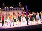 TCC students production of Xanadu at the Pilbeam Theatre.   Photos Pauline Crow