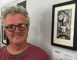 French travels inspires Irons Prize winning art piece