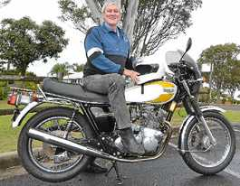 Classic motorcycles go on show to raise funds for schools