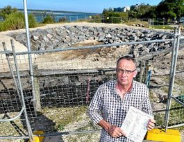 Holy moley! Golden Beach home to council's big new hole