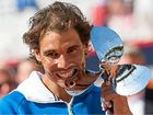 BEATEN twice by Fabio Fognini in 2015, Spain's Rafael Nadal gained a measure of revenge by downing the Italian to win the Hamburg Open.