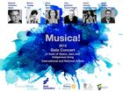 Gladstone Midday Rotary proudly presents Musica! 2015 Gala Concert.  Opera, Jazz and indigenous song featuring national and international stars.