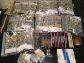A MAJOR Gold Coast drug raid by Queensland Police has uncovered a haul of weapons, ammunition, drugs, cash and even gold