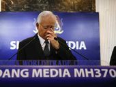 Malaysian Prime Minister Najib Razak has confirmed that a chunk of aircraft wing came from lost Malaysia Airlines flight MH370.