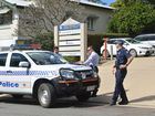 BOMB SCARE: Gympie police evacuated an office building on Channon St Gympie which houses the office of MP Tony Perrett this morning .Photo Craig Warhurst/ The Gympie Times