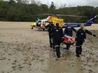 MACKAY'S RACQ CQ Rescue was the busiest single-base helicopter rescue service in Queensland last month.