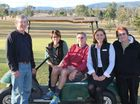 A BID for Toogoolawah golfers to drive their buggies on local streets to and from golf course has ended up in the rough.