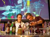 ANYONE can make a cocktail, says cocktail scientist and microbiologist Andrew Cameron .