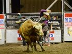 Emerald bullrider eyes on the prize at PBR home event