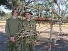 UTILISING only rope and wooden poles, army cadets tackled an adventurous build list during the Lockyer 139ACU engineering camp.