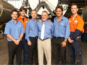 The Tieman family in better times (2013) Mitchell, Kaiden, Dale, Neil, Colin and Brodie Tieman. Photo Contributed