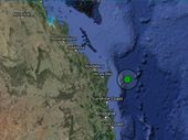 A MAGNITUDE 4 earthquake has struck off the Fraser Coast but residents on Fraser Island didn't feel a thing.