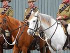 Members of the 11th Light Horse Darling Downs Troop.