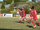 Some of the action from Wests Panthers 28-24 win over Isis Devils.