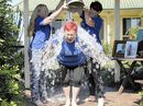 LINKED by a common cause, and the tragic death of their husbands due to motor neurone disease, a group of local women have undertaken the Ice Bucket Challenge.