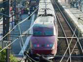 A GUNMAN has injured three people - two critically - after he opened fire on a high-speed French train travelling from Amsterdam to Paris.