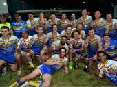 CENTRE Jeff Russell starred as a near-flawless Yeppoon Seagulls crushed Norths Chargers' hopes of ending their eight-year premiership drought.