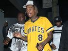 WIZ Khalifa was handcuffed by police officers at LAX for refusing to get off his hoverboard.