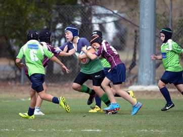A selection of photos from the Primary Schools Rugby Union Cup.