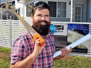 WINNER: Builder Jarrod Dean of Seachange Builders, Coolum Beach.