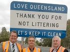 IT'S TIME to come clean Queensland and stop littering south-west highways with a roadside litter project launched this week.
