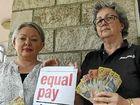 Gender pay gap still too high