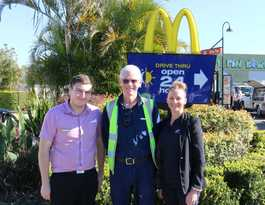 Age no barrier as 61yo Grafton man lands job at McDonalds
